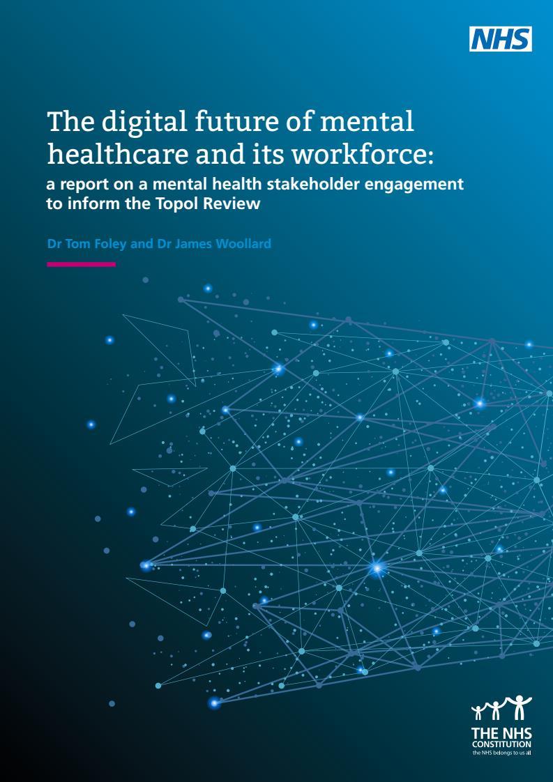 Image representing Digital Future of Mental Healthcare Report